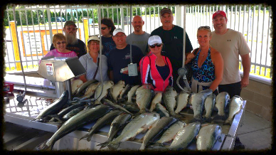 fishing, michigan salmon, salmon charters, salmon fishing charters, michigan piers